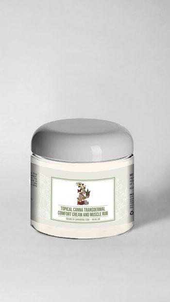 comfortcream 350x622 - Topical Canna Transdermal Comfort Cream And Muscle Rub